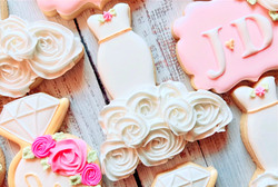 Bridal Gown Cookie