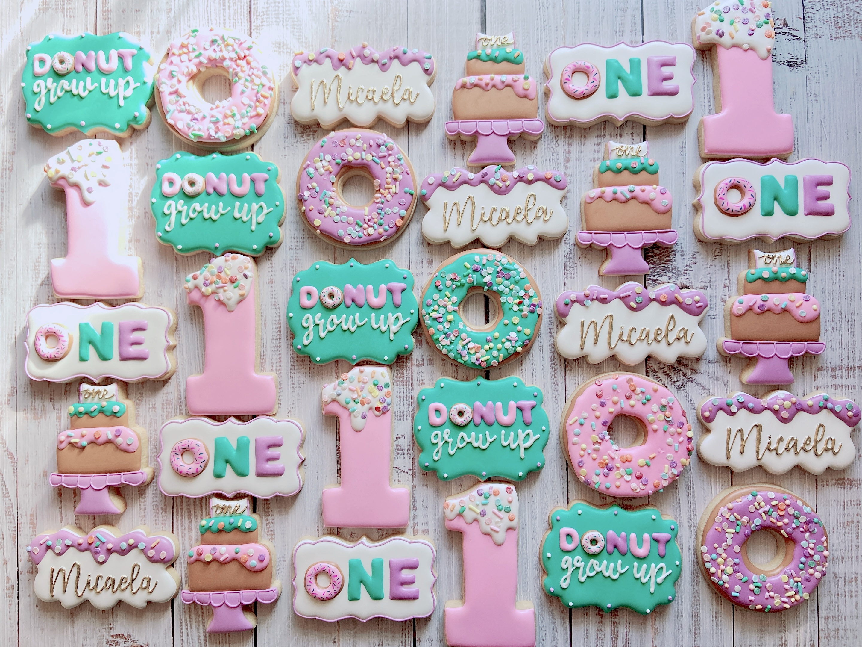 Donut Grow Up Cookies