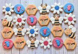 What Will Baby Bee? Gender Reveal Cookies