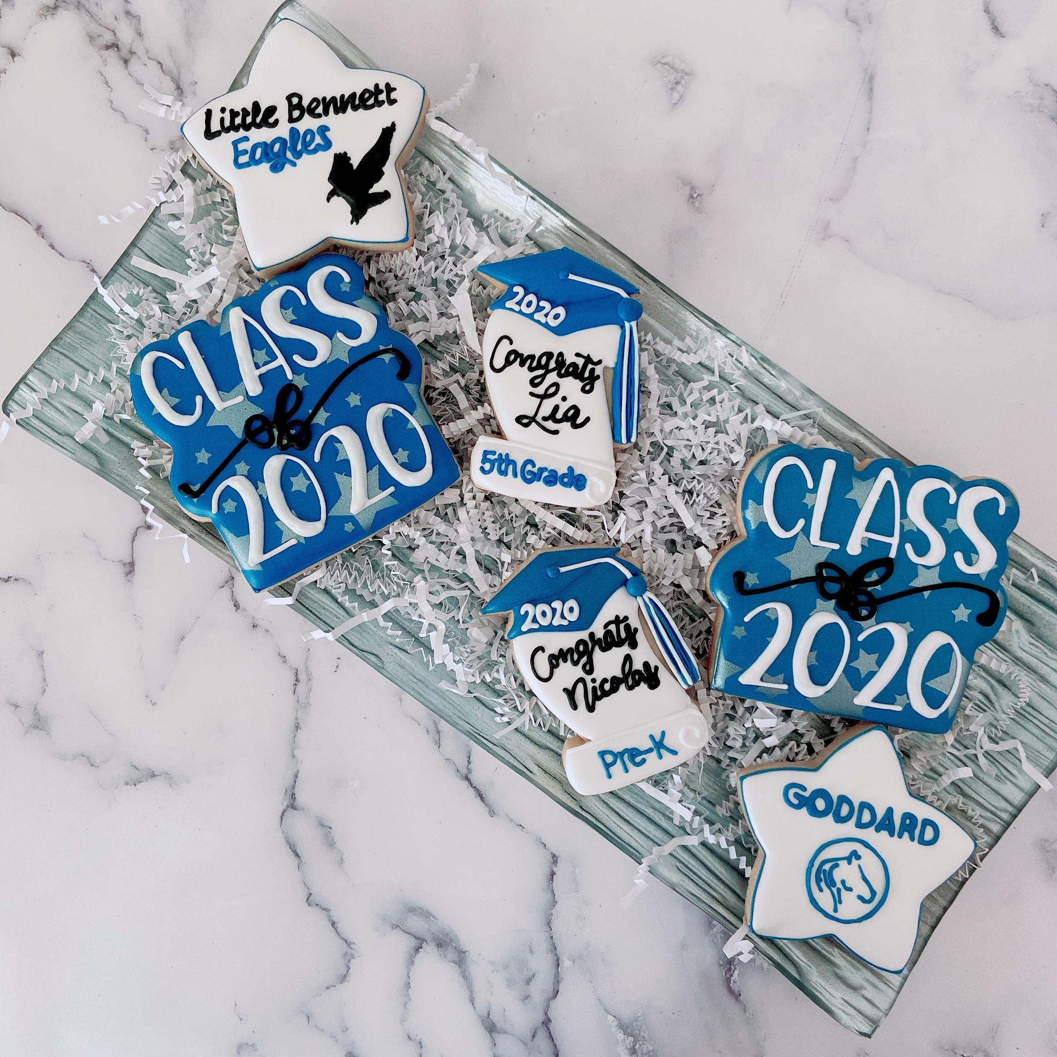 Grade Promotion Graduation Cookies