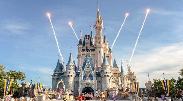 Abertura dos parques temáticos em Orlando