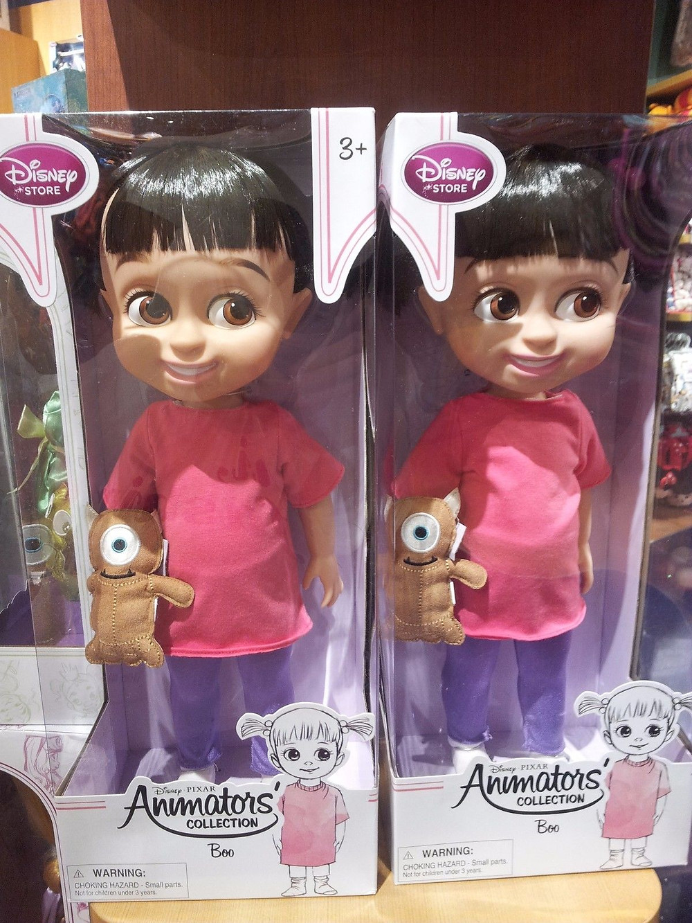 Boo animators doll