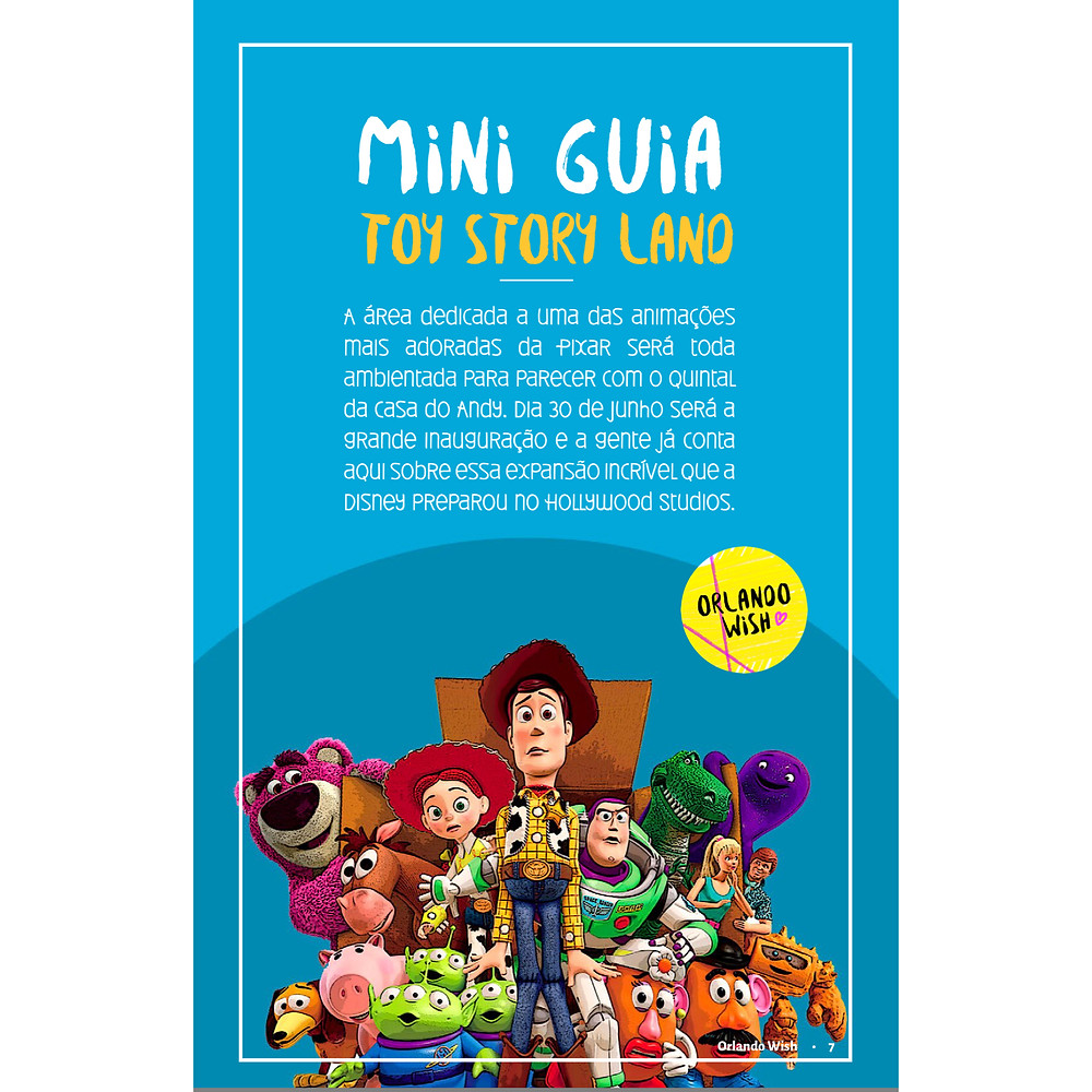 Guia Completo Toy Story Land