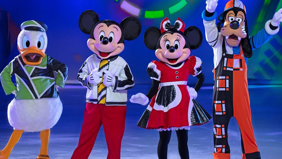 Prévia Exclusiva do novo show de Disney On Ice - Mickey's Search Party