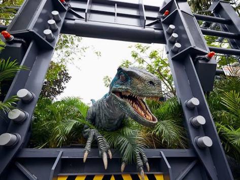 Montanha-russa VelociCoaster no parque Universal Orlando