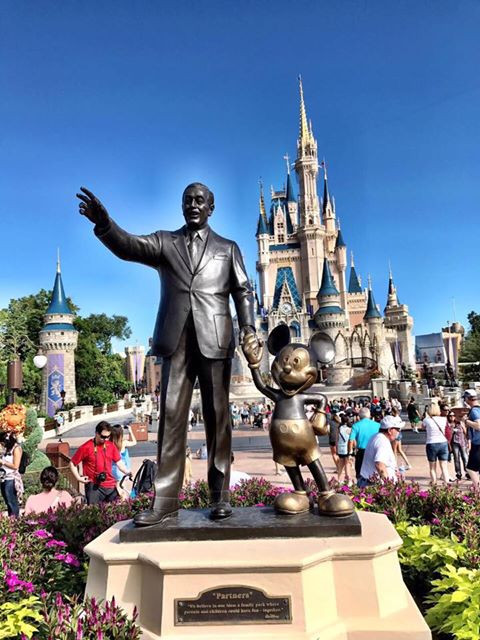 Magic Kingdom imagem Revista Orlando WIsh