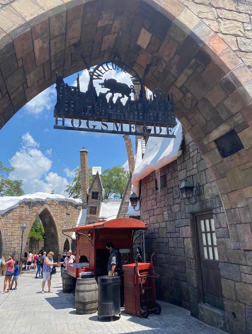 Hogsmeade área dedicada a Harry Potter