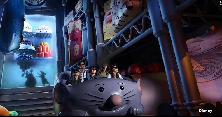 Remy's Ratatouille Adventure nova atração no EPCOT
