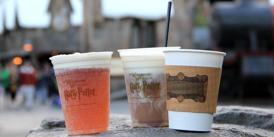 Butterbeer no parque Universal Orlando