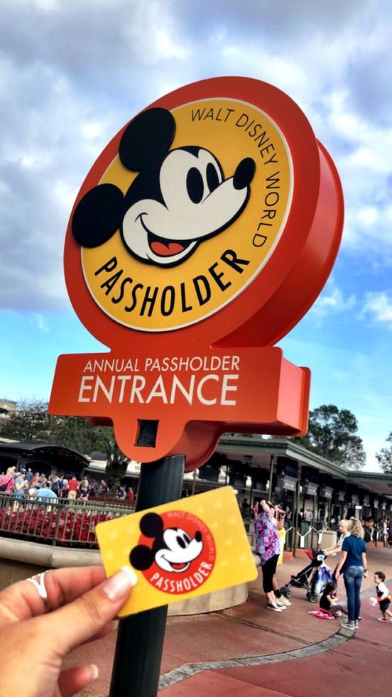 Evento Exclusivo para quem possui o Passe Anual da Disney