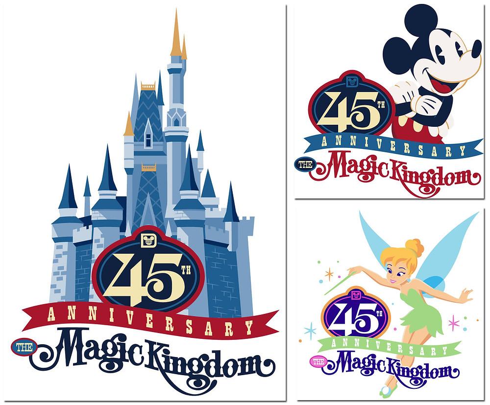 45 mk anniversary logo - orlando wish