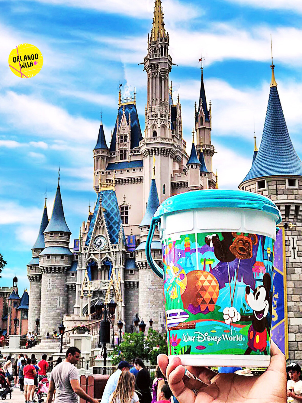 Novo pote de pipoca na Disney