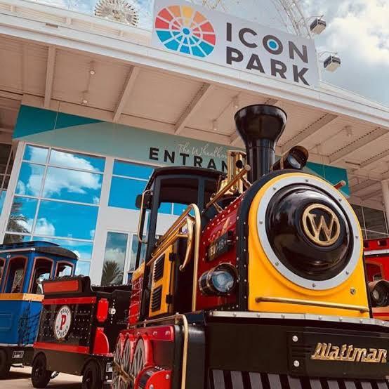 Trem em Orlando