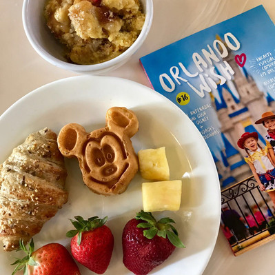 Café da manhã em Magic Kingdom