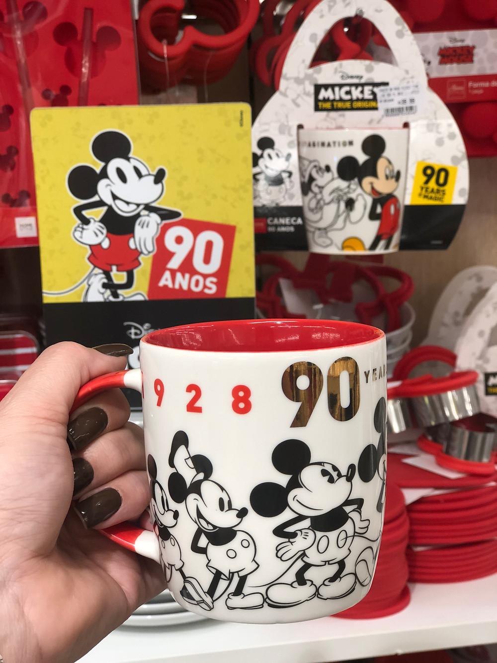 Coleção Mickey 90 Camicado