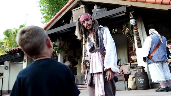 Meet and Greet com Jack Sparrow substitui o show Pirates Tutorial em Magic Kingdom