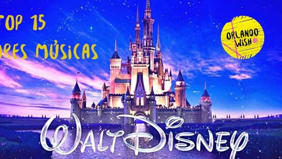 Top 15 melhores músicas da Disney