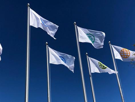 Disney instala novas bandeiras de ícones no Epcot