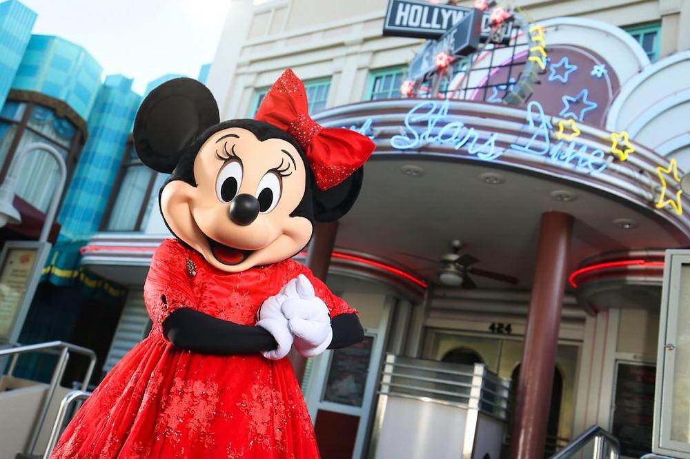 Minnie e Goofy Noel estarão presentes na refeição temático no Hollywood and Vine