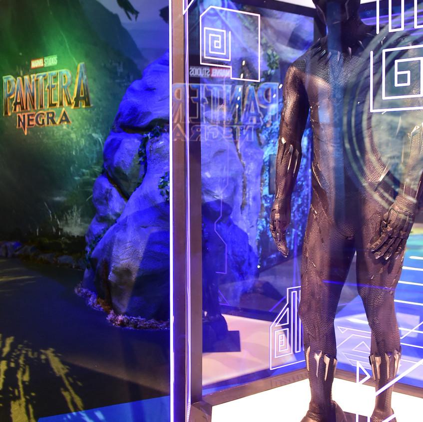 Uniforme do Pantera Negra