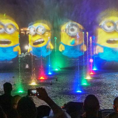 Cinematic Celebration - Estreia do novo show noturno no parque Universal