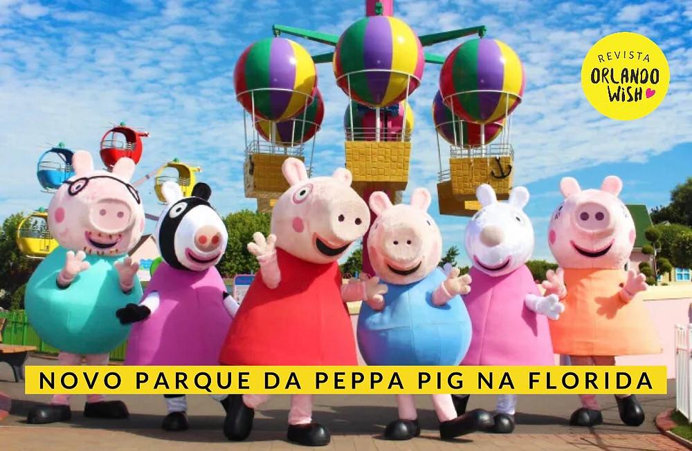 Peppa PIG treme park florida