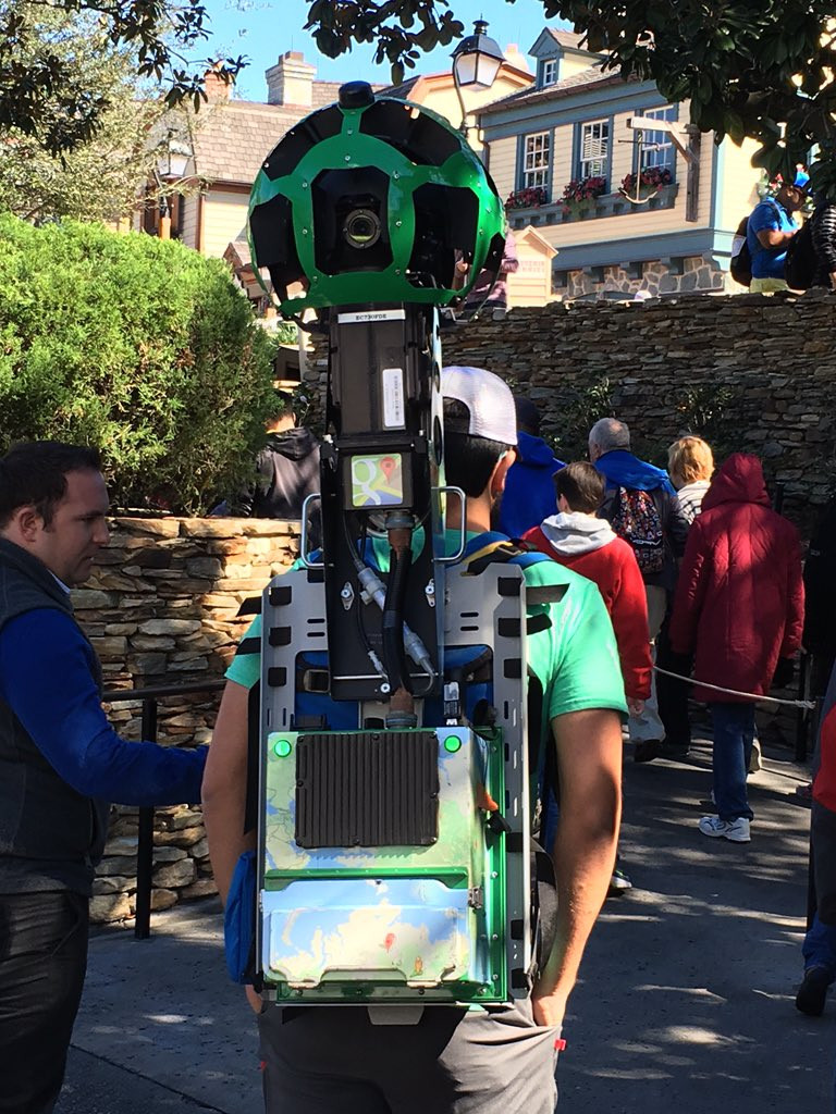 Street View Disney Parks