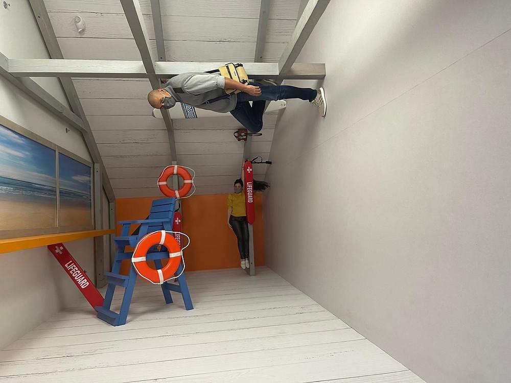 Museum of Illusions em Orlando no ICON Park Orlando