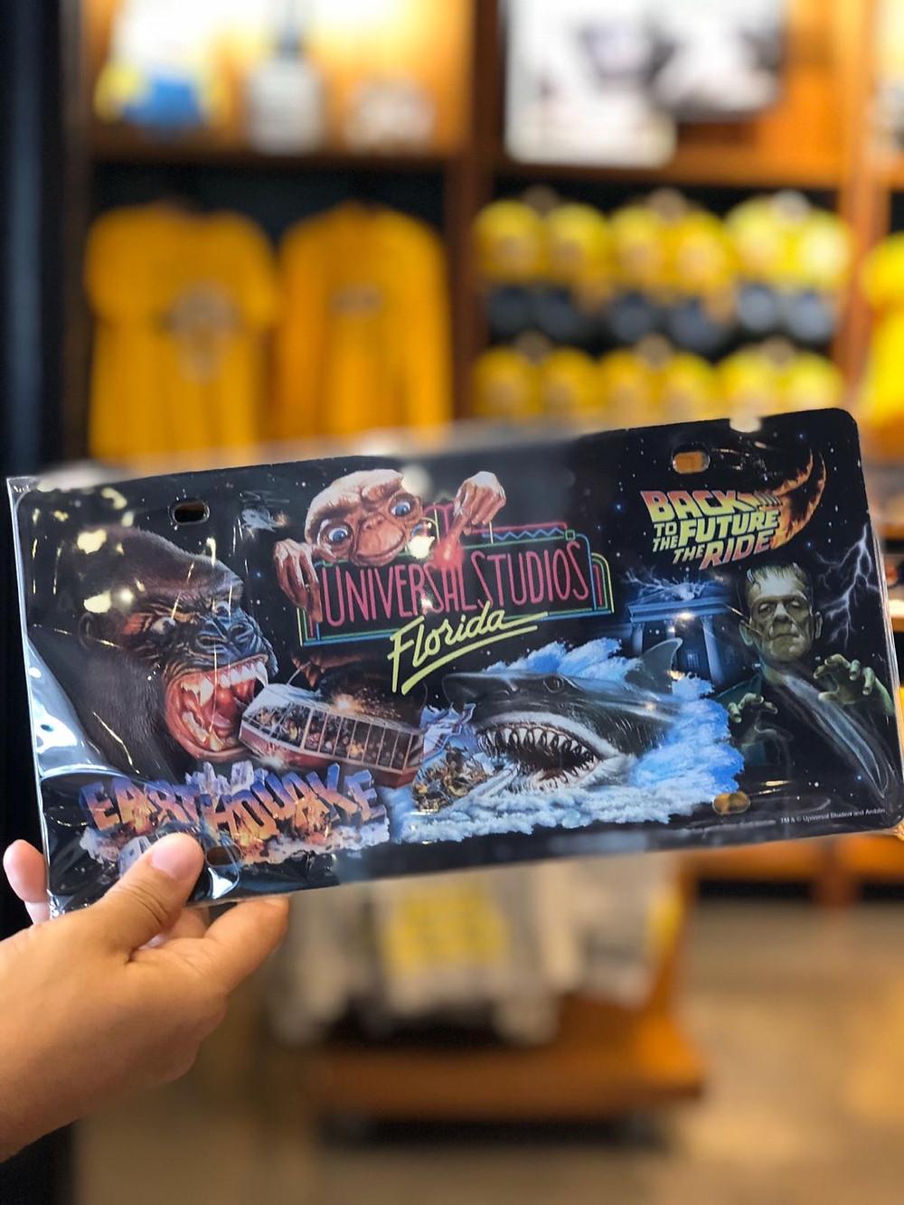 placa comemorativa 30 anos Universal Studios Florida - imagem Revista Orlando Wish