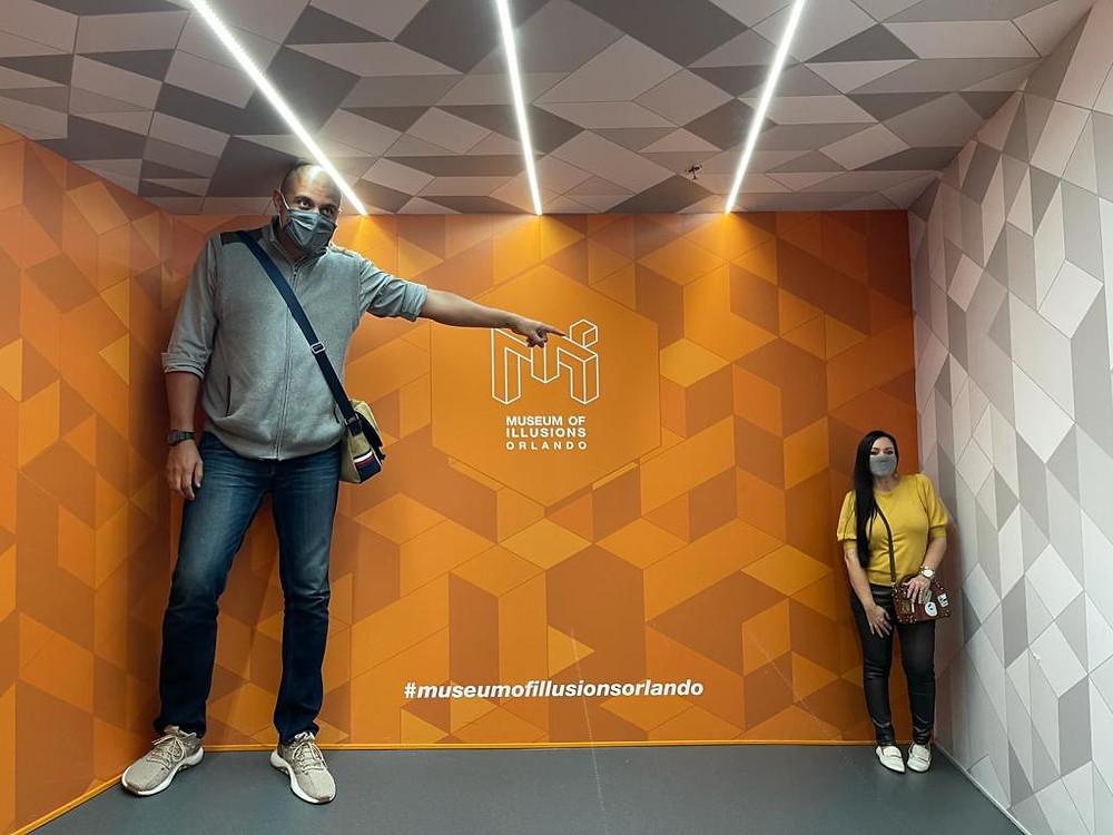 Museum of Illusions no ICON Park Orlando