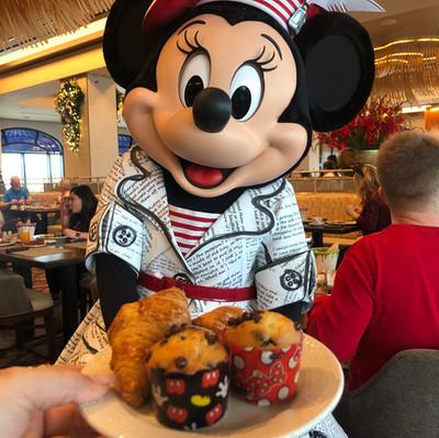 Topolino's Terrace: Nova refeição com personagens Disney no Riviera Resort