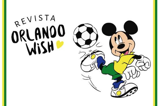 Copa do mundo inspirada nos personagens Disney