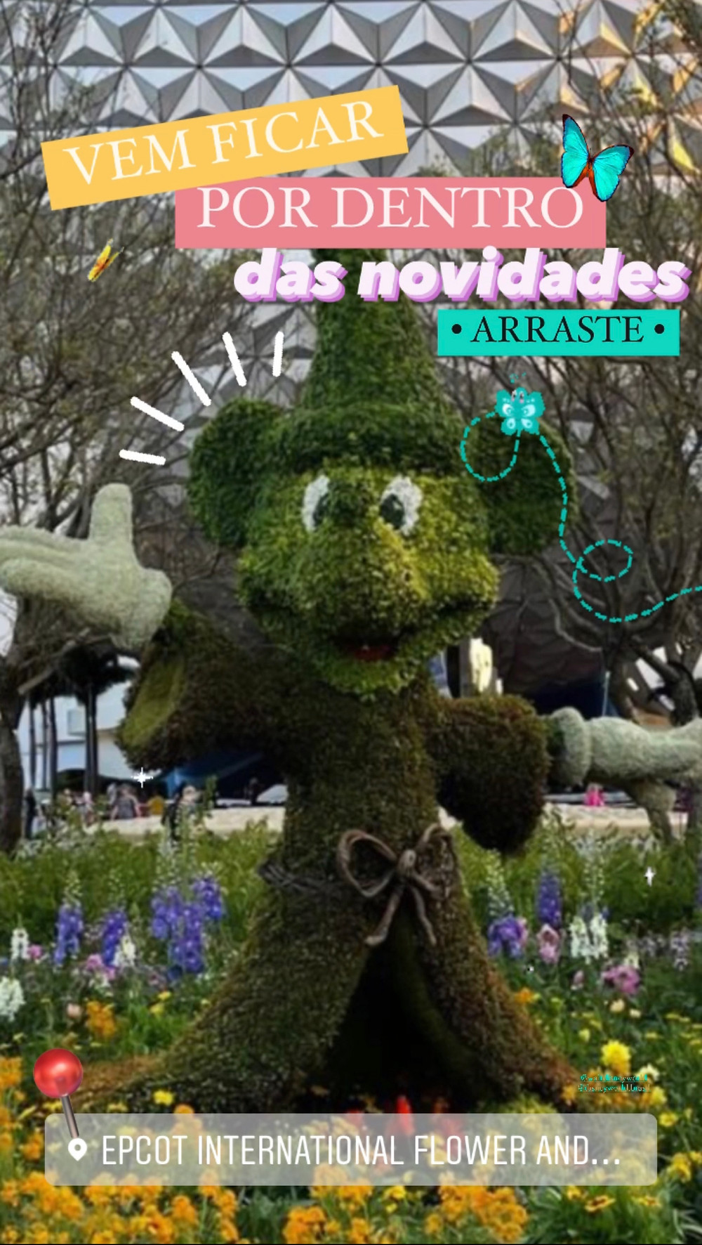 Flower and Garden Festival no EPCOT  2021