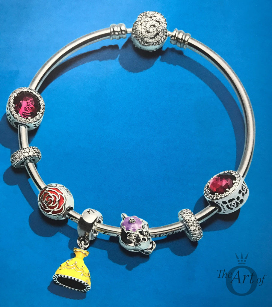 Pandora Beauty and the beast colection