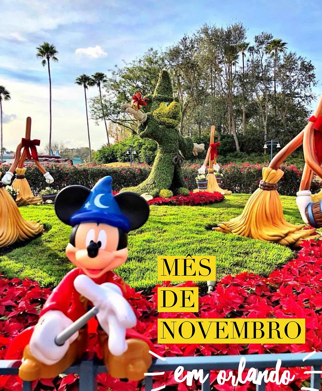 Mês de Novembro em Orlando | Imagem Revista Orlando WIsh