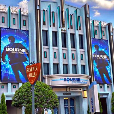 Nova atração Bourne Stuntacular no parque Universal Studios Florida