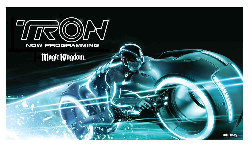 Outdoor Tron em Magic Kingdom