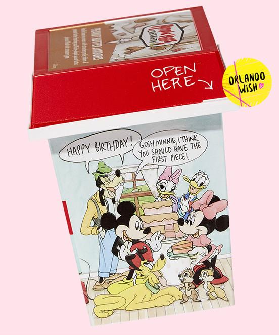 Sorvetes para comemorar os 90 anos do Mickey