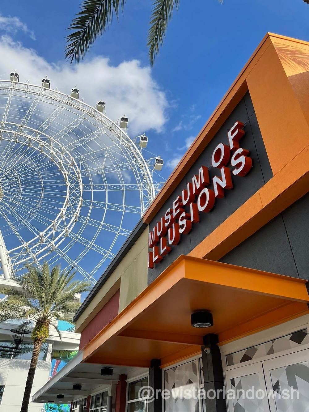 Museu das Ilusões em Orlando no ICON Park