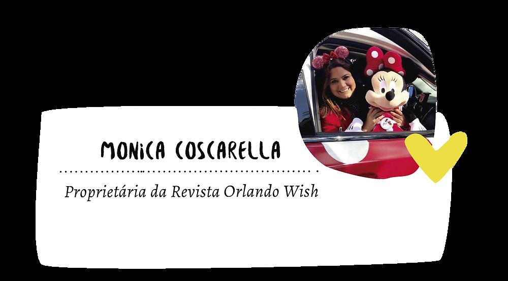 Monica Coscarella Jornalista, apaixonada por Orlando