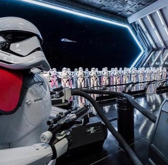 Atração Rise of the Resistance em Star Wars Galaxy's Edge