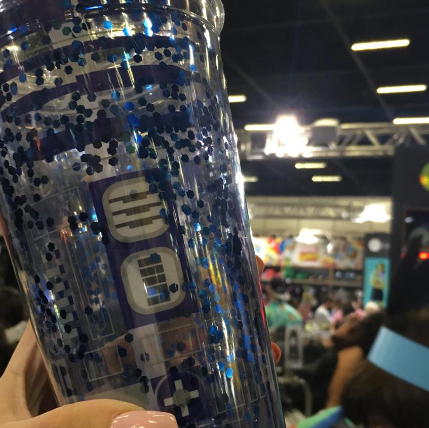 Garrafa Copo R2-D2 Star Wars