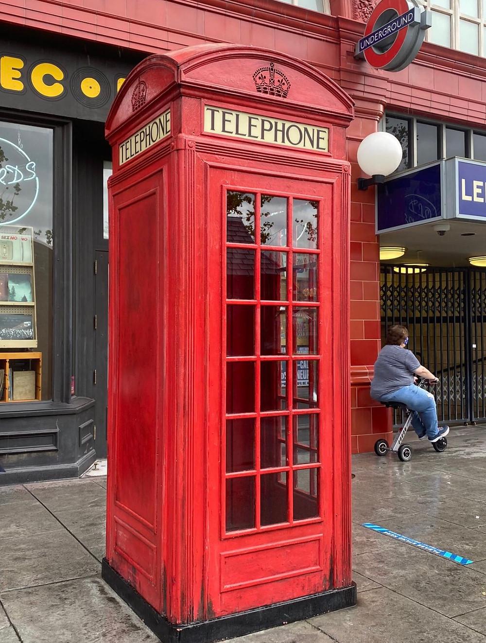 Telefone para o ministério da magia