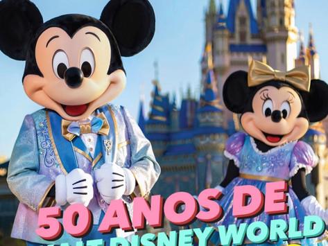 50 anos de Walt Disney World terá 18 meses de celebração
