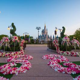Casamento em Magic Kingdom