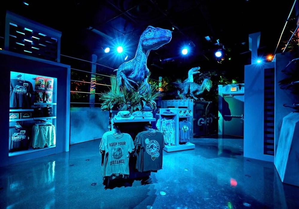 Dinossauros na Jurassic World na universal