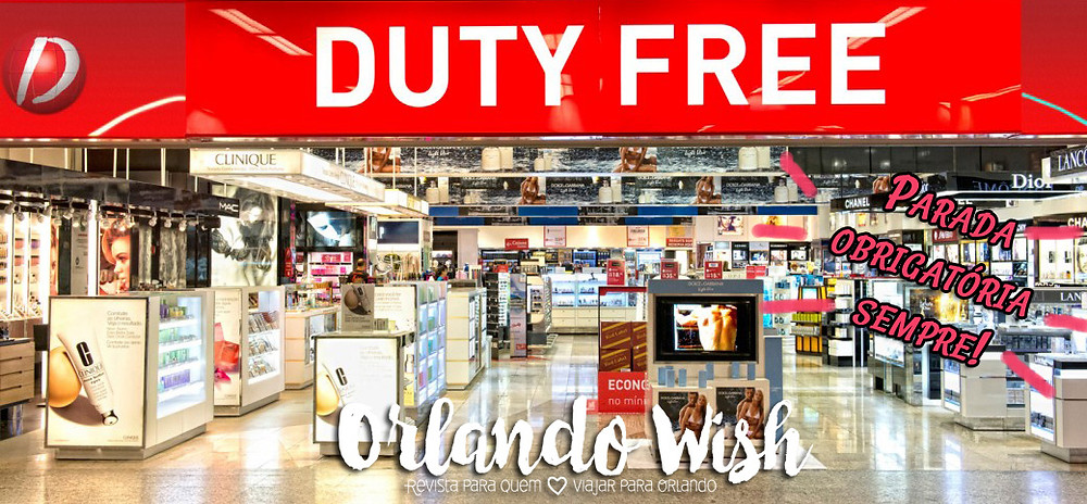 Dufry Red Orlando Wish - Duty Free Shopping