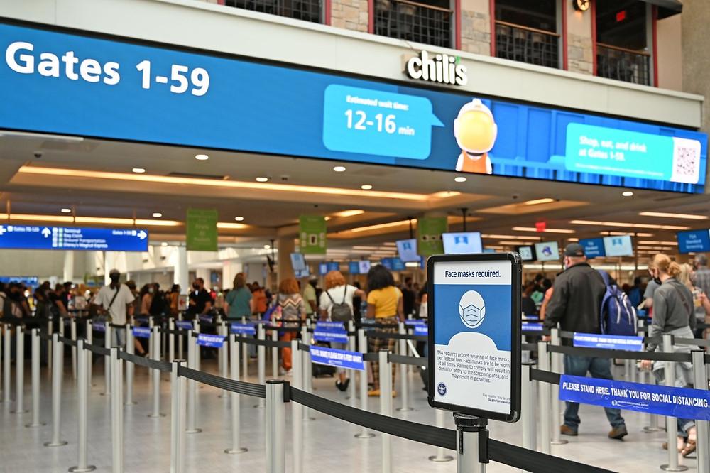 50.6 milhões de passageiros embarcaram ou desembarcaram no aeroporto MCO