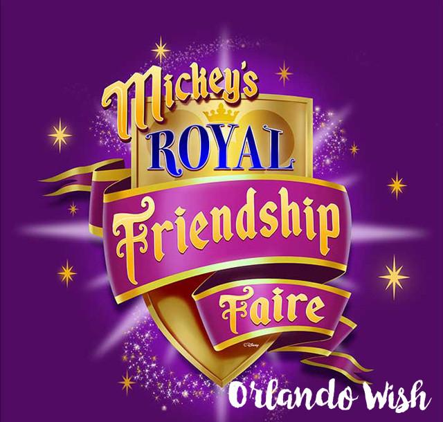 Mickey´s Royal Friwndship Faire - orlando wish