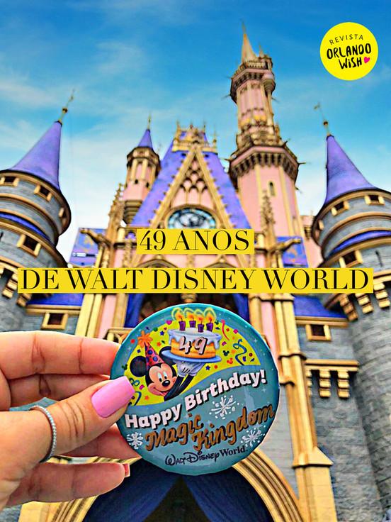 Aniversário de Magic Kingdom - fatos marcantes e curiosos